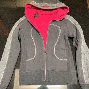 Lullulemon fleece zip up hoodie